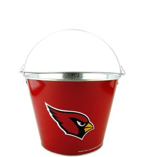 Arizona Cardinals Galvanized Bucket