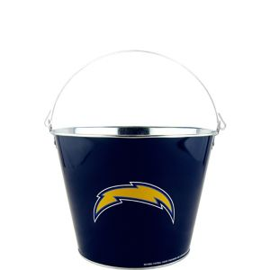 Los Angeles Chargers Galvanized Bucket