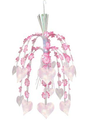 Flower Petal Hanging Cascade 24in