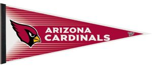 Arizona Cardinals Pennant Banner 12in x 30in