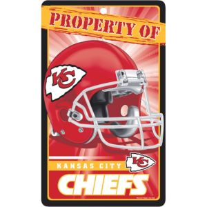 Property of Kansas City Chiefs Sign