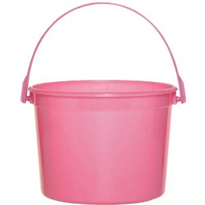 Bright Pink Favor Container