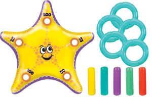 Inflatable Starfish Ring Toss Game