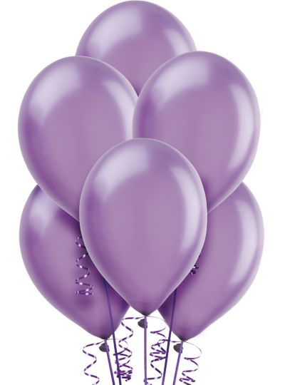 Lavender Pearl Balloons 72ct