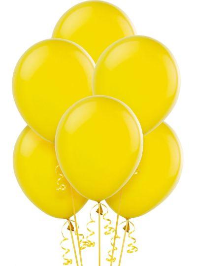 Sunshine Yellow Balloons 15ct