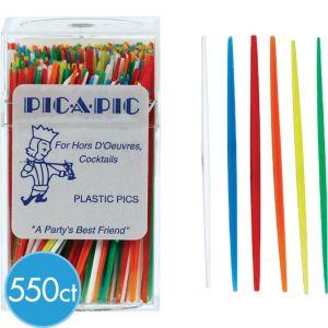 Plastic Toothpicks 550ct