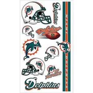 Miami Dolphins Tattoos 7ct