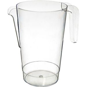 Clear Plastic Pitcher 50oz