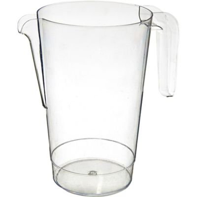 Clear Plastic Pitcher 50oz