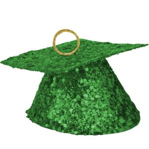 Green Graduation Balloon Weight