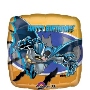 Batman Burst Happy Birthday Balloon 18in