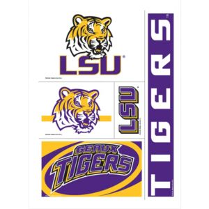 Louisiana State Tigers Decals 5ct