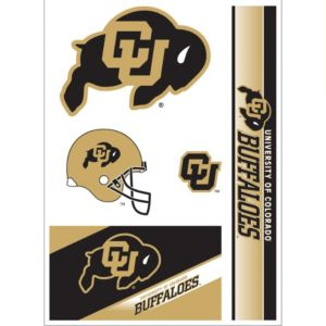Colorado Buffaloes Decals 5ct