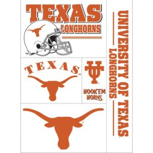 Texas Longhorns Decals 5ct