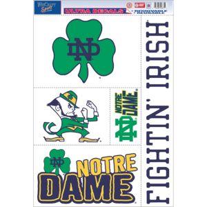 Notre Dame Fighting Irish Decals 5ct