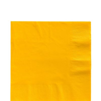 Sunshine Yellow Lunch Napkins 125ct