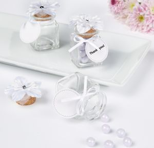 Glass Jar Wedding Favor Kit 12ct