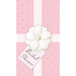 Pink Passion Bridal Shower Invitations 12ct