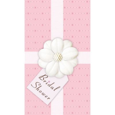 Bridal Shower Novelty Invitations 12ct