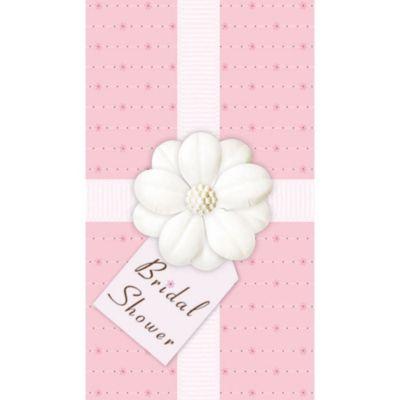Bridal Shower Novelty Invitations 12ct