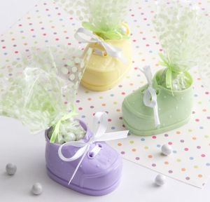 Multicolor Bootie Baby Shower Favor Kit 12ct