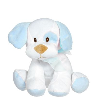Blue Baby Pup Plush 8 1/2in
