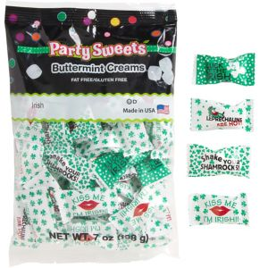 St Patrick's Day Pillow Mints 50ct