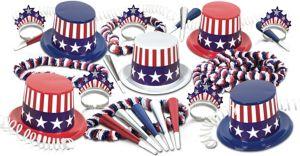 Kit for 50 - Spirit of USA Party Kit