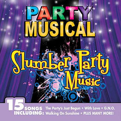 Slumber Party Music CD