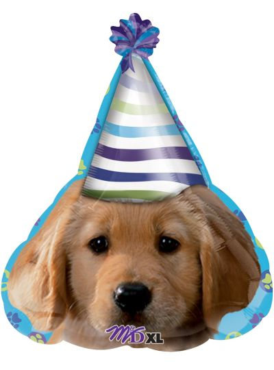 Happy Birthday Balloon - Party Pups