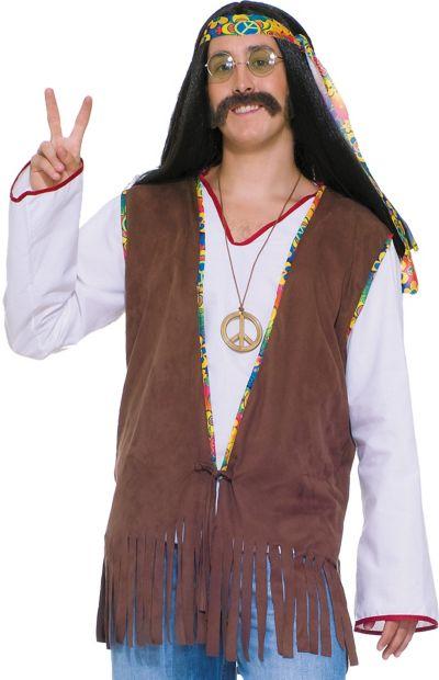 Adult Hippie Fringe Vest