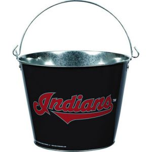 Cleveland Indians Galvanized Bucket