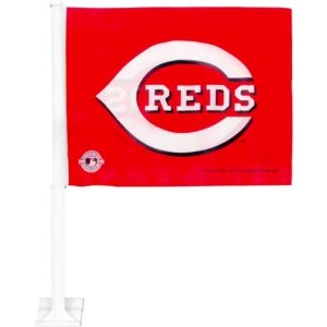 Cincinnati Reds Car Flag 15in X 11in Party City