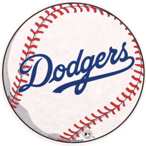 Los Angeles Dodgers Pennant Baseball 14in