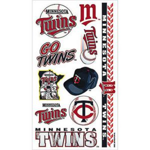 Minnesota Twins Tattoos 10ct