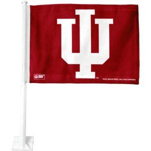 Indiana Hoosiers Car Flag