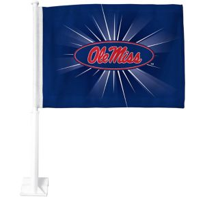 Ole Miss Rebels Car Flag