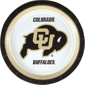 Colorado Buffaloes Lunch Plates 10ct