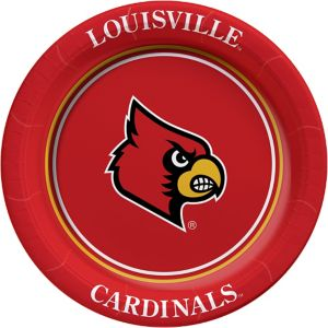 Louisville Cardinals Lunch Plates 8ct