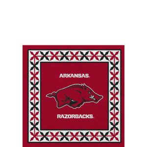 Arkansas Razorbacks Beverage Napkins 16ct