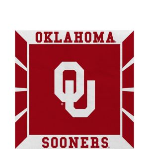 Oklahoma Sooners Lunch Napkins 16ct