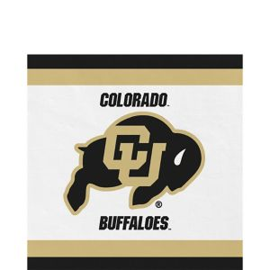 Colorado Buffaloes Lunch Napkins 20ct