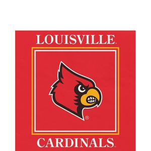 Louisville Cardinals Lunch Napkins 20ct