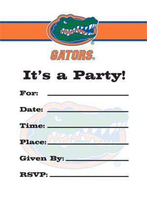 Florida Gators Invitations 8ct