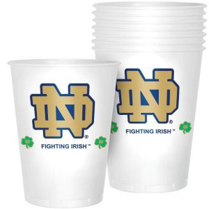 Notre Dame Fighting Irish Plastic Cups 8ct