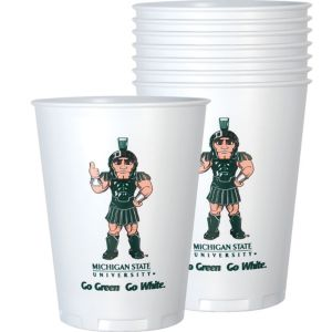 Michigan State Spartans Plastic Cups 8ct