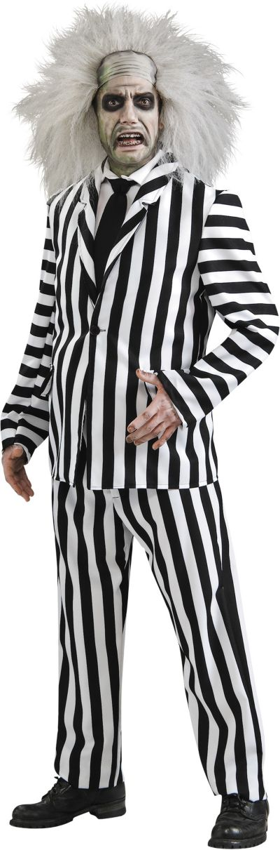 Adult Beetlejuice Costume Deluxe