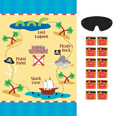 Pirate's Treasure Party Game