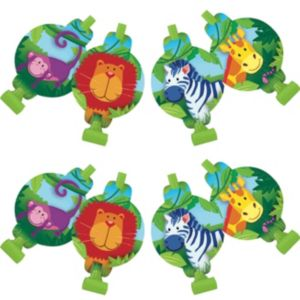 Jungle Animals Blowouts 8ct