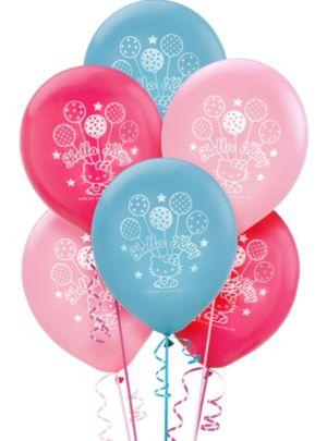 Hello Kitty Balloons 6ct